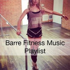 youtube playlist for barre workouts!