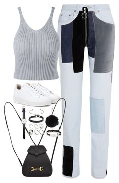 """Sem título #5037"" by fashionnfacts ❤ liked on Polyvore featuring Off-White, Eytys, Gucci, ASOS, Daniel Wellington, Topshop and Cartier"