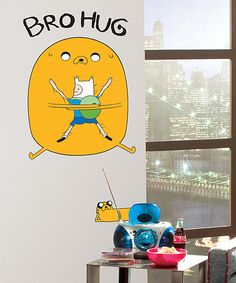 Finn & Jake 'Bro Hug' Wall Decal   Daily deals for moms, babies and kids