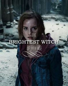 Hermione Granger taught girls that they didn't have to just be the princess, but could be the warrior.