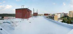 Rekonstrukce ploché #střechy