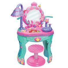 Disney The Little Mermaid Ariel's Ocean Salon – Target Australia Little Mermaid Bedroom, Mermaid Nursery, Mermaid Room, Ariel The Little Mermaid, Disney Toys, Baby Disney, My Baby Girl, Baby Love, Little Girl Rooms