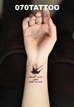 Idea of a bird tattoo my honey and I are gonna get together :)