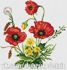 VK is the largest European social network with more than 100 million active users. Cross Stitch Boards, Cross Stitch Rose, Cross Stitch Flowers, Cross Stitch Embroidery, Hand Embroidery, Machine Embroidery, Cross Stitch Designs, Cross Stitch Patterns, Flowers For You
