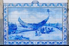Ovar Railway Station, Portugal (6) Ovar Railway Station Azulejos  Posted on March 23, 2015 by Gail at Large