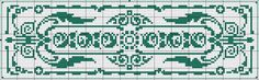Rectangle 30 - Chart for cross  stitch or filet crochet.