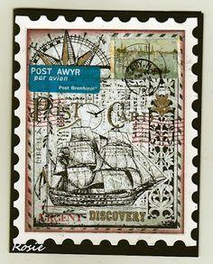 Rosie's Bastelwelt: Sail Away