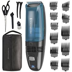 Remington Cordless Vacuum Haircut Kit, Vacuum Beard Trimmer, Hair Clippers for Men pieces) * Check this awesome product by going to the link at the image. (This is an affiliate link) Crew Cut Haircut, Fade Haircut, Men's Crew Cut, Crew Cuts, Types Of Fades, Military Haircuts Men, Hc Hair, Remington Hair