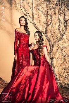 SEASONS' HARMONY ZiadNakad HauteCouture Fall /Winter 2014 2015  Beirut Lebanon... Lebanese Seasons Harmony  International Red Carpet Fashion...Celebrity Stars- Hollywood
