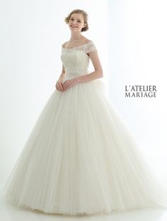 L'ATELIER MARIAGE(ラトリエマリアージュ):WHE021 レンタルウェディングドレス 大阪/東京/福岡