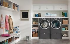Laundry Room Washing Machines  -  One of the must have household appliance for a laundry room is the washing machines.Washing machines for your laundry room come in several types and...