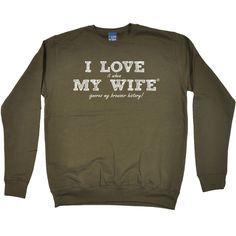 ILIWMW I Love It When My Wife Ignores Browser History Funny Sweatshirt