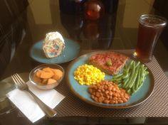 Meat loaf al puro estilo del sureste texano.