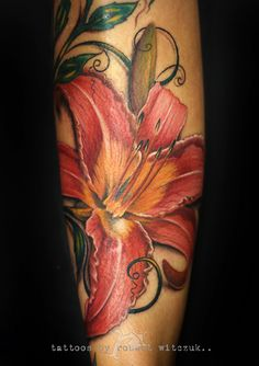 Lily Tattoos by Robert Witczuk