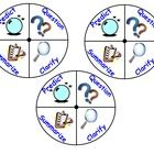 This is a PDF version of my Reciprocal Teaching Wheels originally posted for NoteBook software. These wheels can be used as a tool to enhance your. Reading Lessons, Teaching Reading, Guided Reading, Teaching Tools, Teaching Ideas, Reciprocal Reading, Accountable Talk, Reading Buddies, Classroom Inspiration