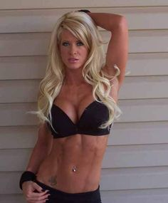 Angel Williams before she was Angelina Love in TNA