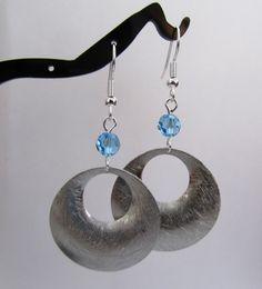 Aquamarine Crystal Rhodium Finished Gogo by MoYuenCreations, $12.00