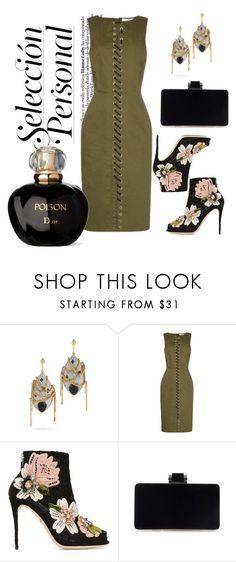 """""""Sexy And She Knows It"""" by pixidreams ❤ liked on Polyvore featuring Parulina, Altuzarra, Dolce&Gabbana and Christian Dior"""