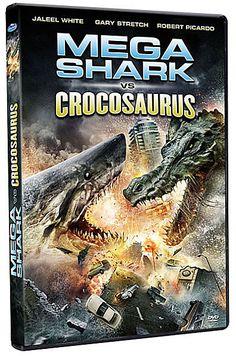 Better than Sharknado and Sharktopus... MEGA SHARK VS CROCOSAURUS