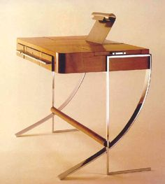 René Herbst writing desk, circa 1929, France.