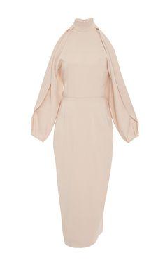 Open Sleeved Pencil Dress by CUSHNIE ET OCHS for Preorder on Moda Operandi