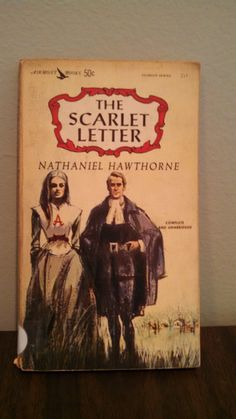 Vintage 1962 Edition of The Scarlett Letter by Nathaniel Hawthorne by CollectorsAgency on Etsy