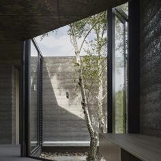 This moody Melbourne house extension by local studio Branch Studio Architects features dark rammed-charcoal walls, window nooks and an outdoor bathtub. Pavilion Architecture, Modern Architecture House, Interior Architecture, Australian Architecture, Indoor Outdoor, Indoor Garden, Patio Interior, Interior Exterior, Exterior Design