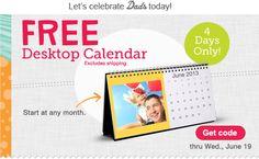 FREE Desktop Calendar at Walgreens - Closet of Free Samples