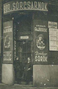 1900 körül. Visegrádi utca.