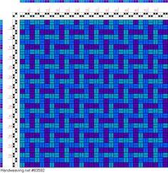 draft image: Figurierte Muster Pl. XXII Nr. 1, Die färbige Gewebemusterung, Franz Donat, 2S, 2T