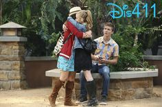 G Hannelius with Peyton Meyer and Kayla Maisonet in #DWAB