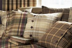 Byron Wools Fabric Collection (source Sanderson) Fabric Wallpaper Australia / The Ivory Tower