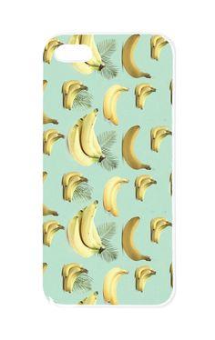 Handytaschen - Case etui na telefon Iphone'a 4/4S/5/5S BANANY - ein Designerstück von LawendowyBazar bei DaWanda