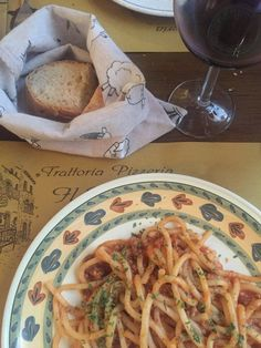 eating out in volterra pici ragu hollygoeslightly  http://hollygoeslightly.co.uk/food/eating-out-in-volterra  #volterra #tuscany #italy #tuscanfood #eatingout #italianfood #ragu #spaghetti #foodie #fdblogger #travel #tblogger #hollygoeslightly