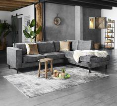 Tazzo corner sofa - The attractive and comfortable Tazzo corner sofa comes from the Pronto Wonen collection. Large Office Furniture, Bedroom Furniture Design, Apartment Furniture, Rooms Home Decor, Home Living Room, Interior Design Living Room, Living Room Designs, Corner Sofa, Sofa Design