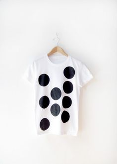 Men's and Women's Organic Cotton Hand Screen Printed by emteeemtee, $28.00