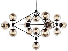 Modo Chandelier - modern - chandeliers - The Future Perfect