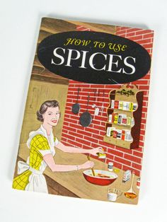 vintage How to Use Spices Cookbook - American Spice Trade Assoc. - 1958 - $8.00