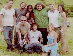 Some of the cast | LOST