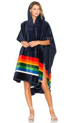 ffc87f073d Shop for Poler x Pendleton Crater Lake Towel Poncho in Multi at REVOLVE.