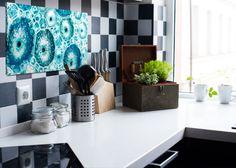 Magia koloru - Kuchnia w kolorze niebieskim