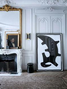 Интерьер с французским акцентом Parisian apartments by Gilles et Boissier