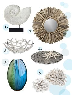 Fallon Confidential: Under the Sea: Home Décor... I want these for the basement whenever we do it!