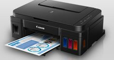Canon PIXMA print function complete with G2000, Scan, and Copy, birthing the functions of Wireless links for easy access the Printer from your Mobile phone or PC without cables. The printer was