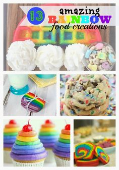 The REAL Housewives of Riverton: Rainbow Food Creations - A Round-Up of 13 Amazingly Beautiful Rainbow Foods