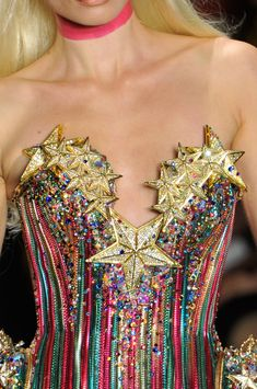 fashion, clothes, clothing, tops, rainbow, stars, patterns, stripes, The Blonds, Spring 2013