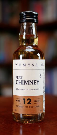 The Wemyss Peat Chimney 12 Years Old Blended Malt Scotch Whisky