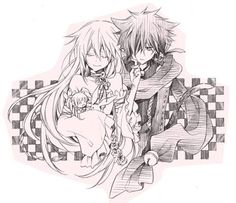 Cheshire Cat x Will of the Abyss - Pandora Hearts