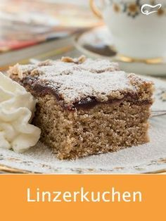 The Linzerkuchen is a traditional Austrian pastry. With fruity . - The Linzerkuchen is a traditional Austrian pastry. Filled with fruity jam, this cake is a real deli - Desserts Français, Birthday Desserts, Winter Desserts, French Desserts, French Recipes, Best Pastry Recipe, Pastry Recipes, Baking Recipes, Cake Recipes