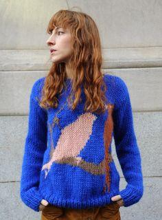 Super styled knitwear at Vogue Paris featuring Natasha Poly